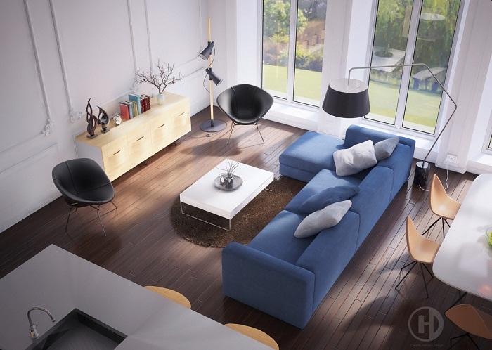 Blue sofa inspiration
