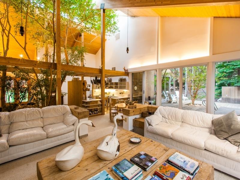 Cabin interior design
