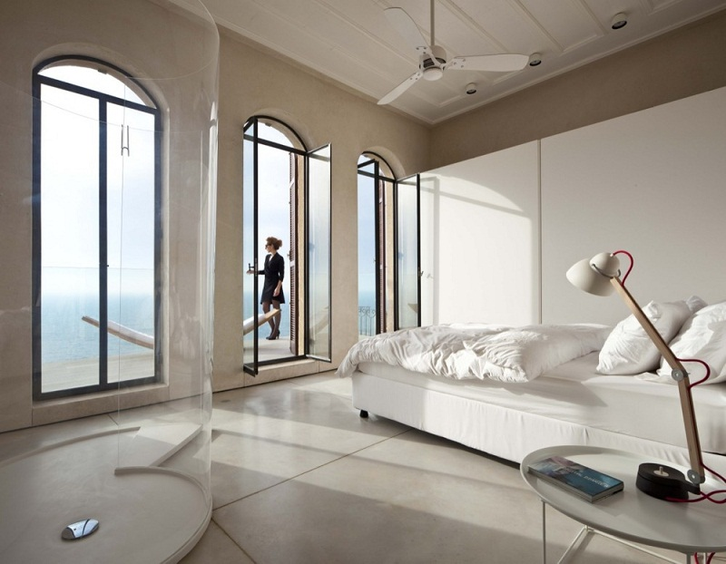 Bedroom with balcony ideas