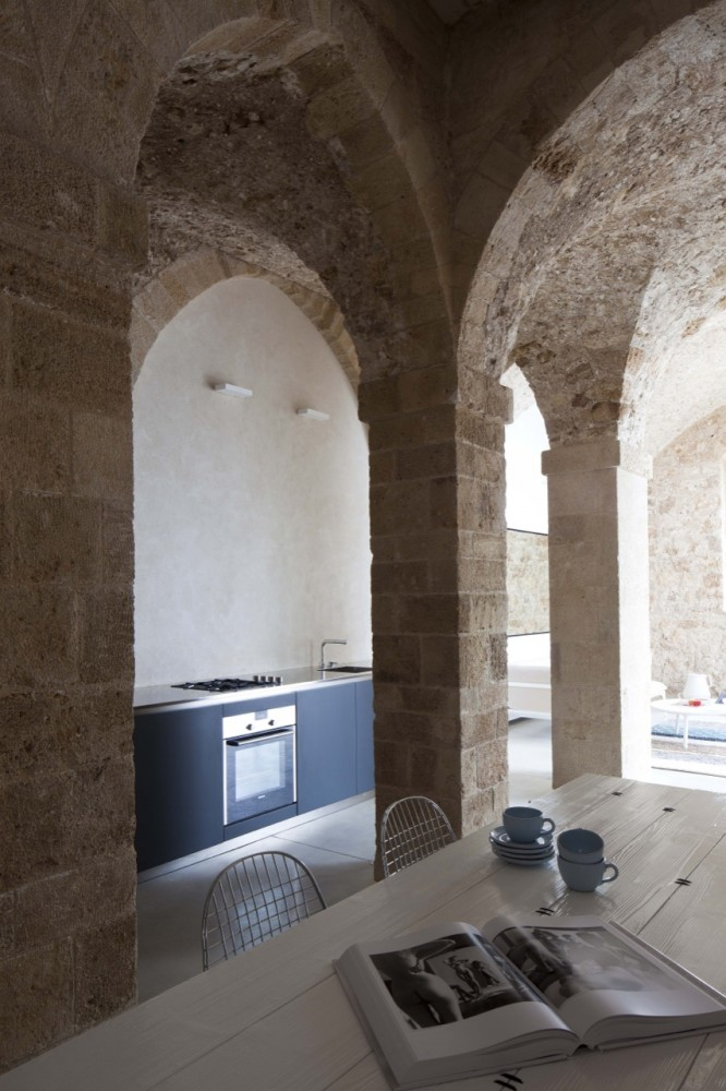 Kitchen design with castle theme