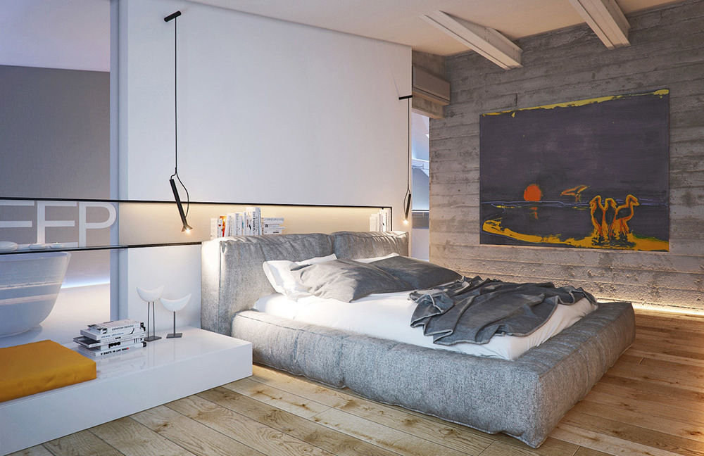 Attic Bedroom Arrangement