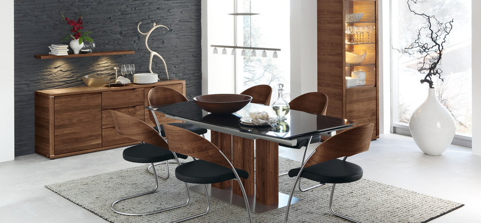 Black dining set ideas
