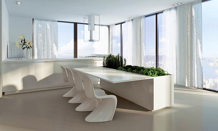Unique dining room decoration