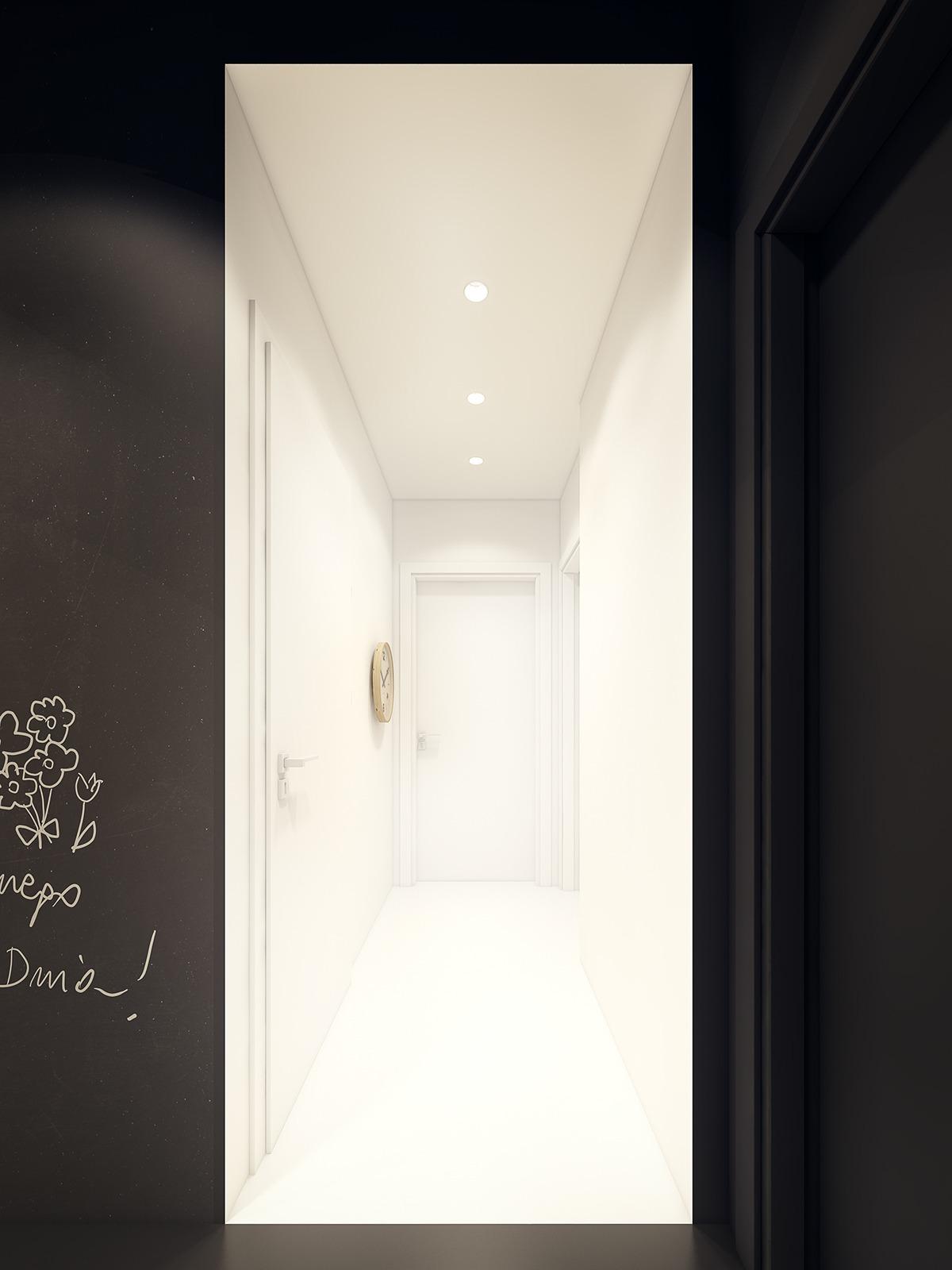 Creative entryway design
