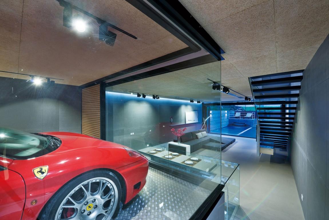 Ferrari garage ideas