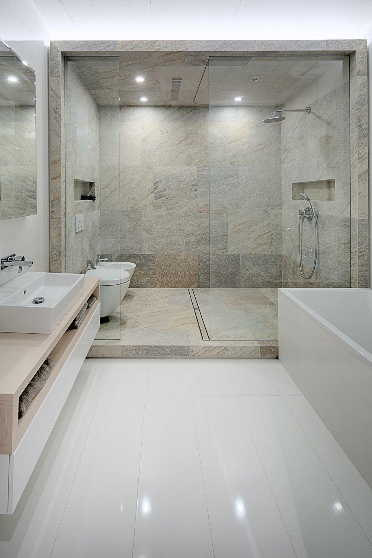 huge shower