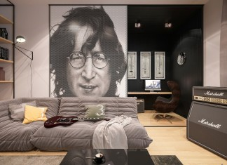 Music style living room