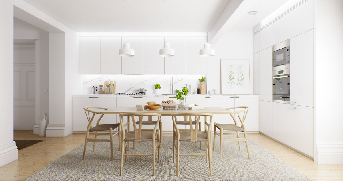 7 Inspirational Ideas For Dining Room, White And Wood Dining Room Sets