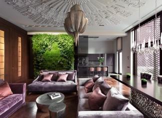 Luxurious living room design