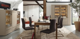 Modern dining room ideas for small space