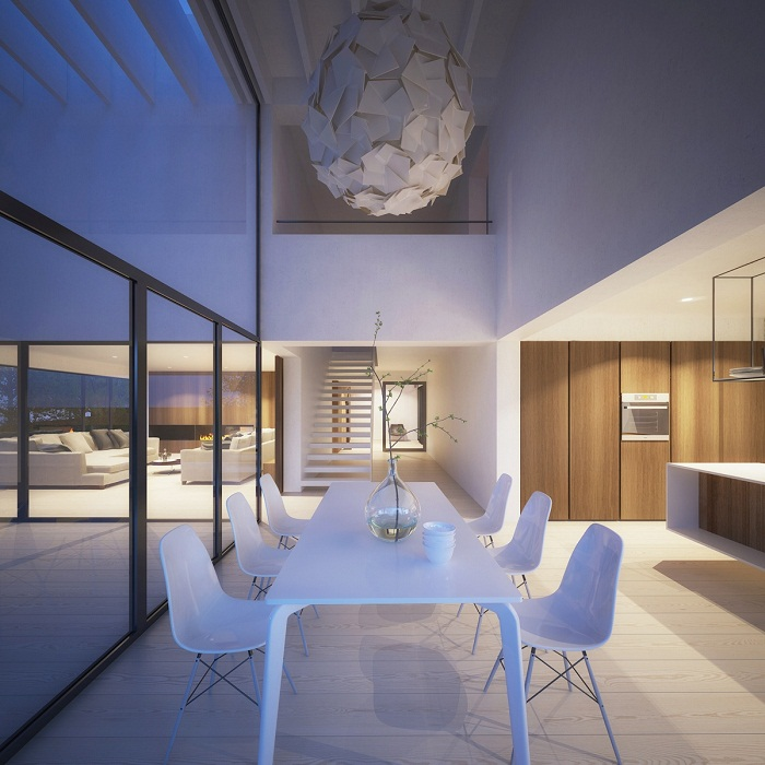 Modern and cool dining room
