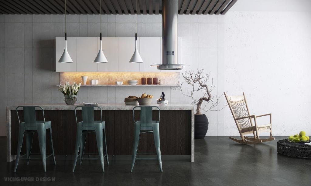 Modern and stylish kitchen dining set