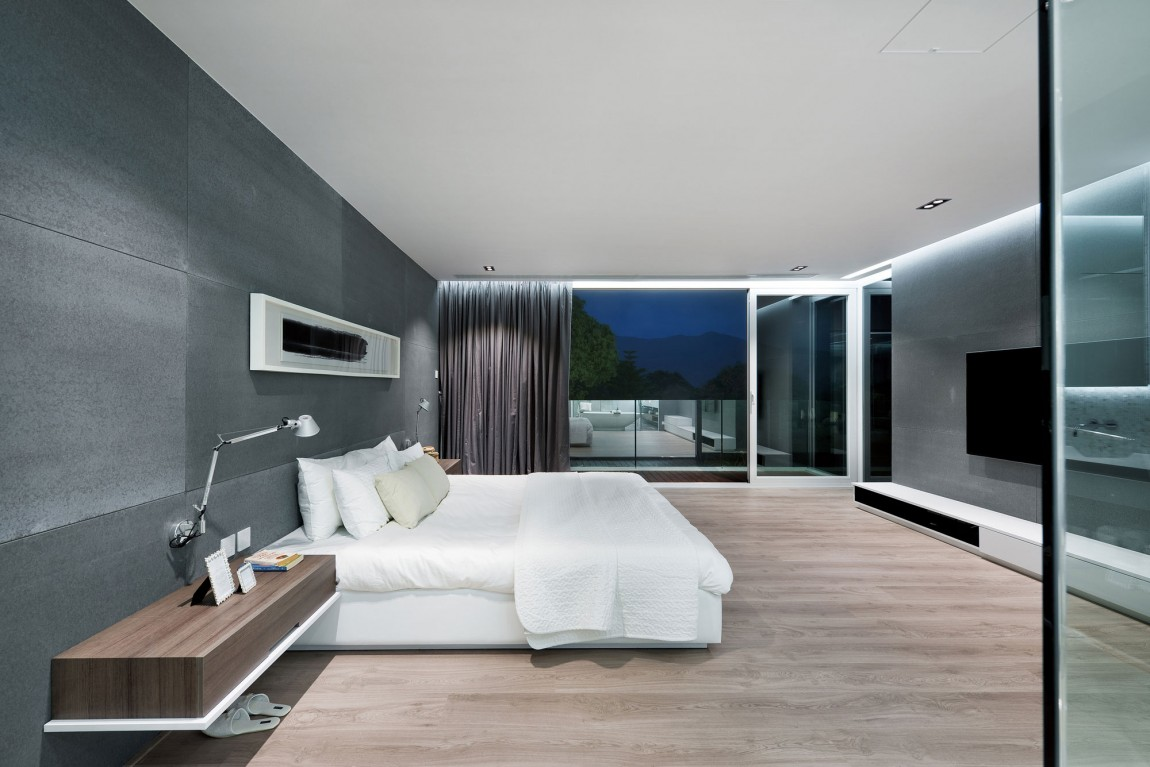 Modern master bedroom design