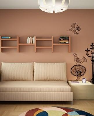 France Scheme To Decorate Kid's Bedroom