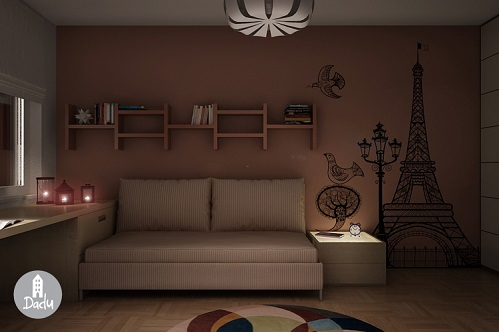 Decorating Kid's Room By Using French Scheme
