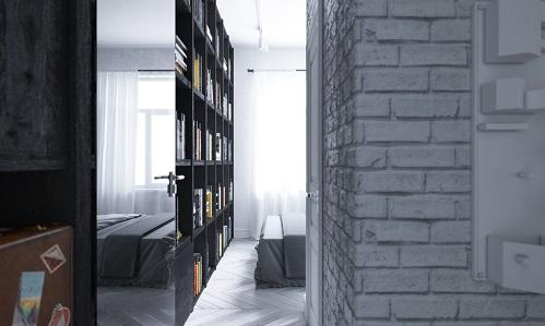 Luminous Loft Bring Shining And Brilliant View For Apartment