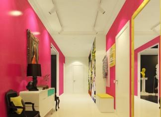 Pink room decoration