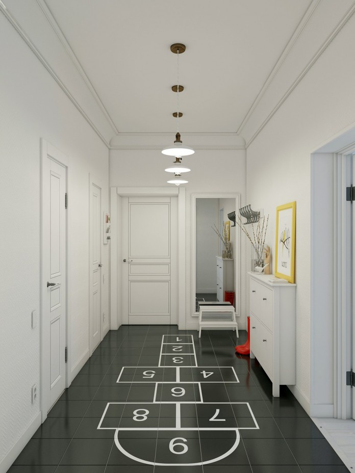 Unique and playful apartment design