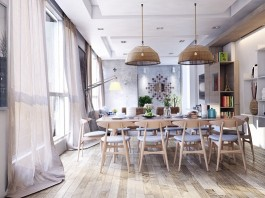 Traditional Dining room design