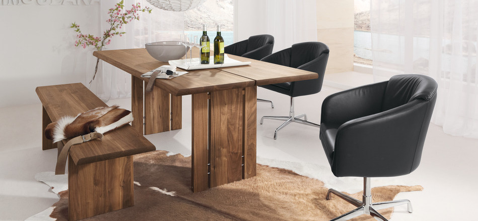 Rustic dining table concept