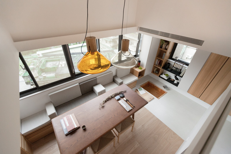 Simple apartment design with Asian style