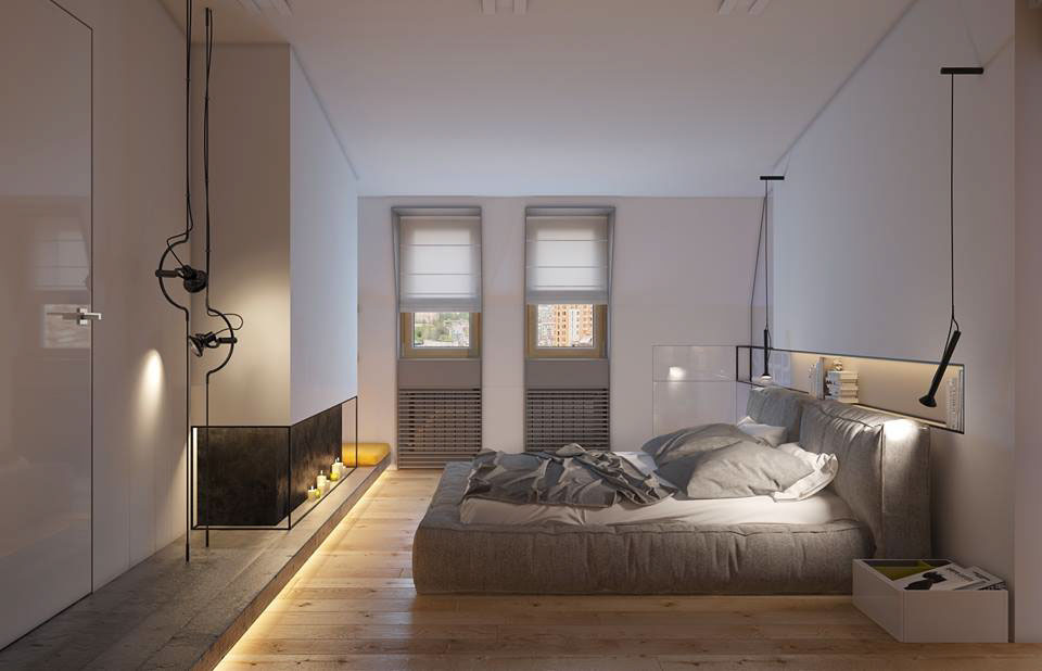 Soft bedroom frame