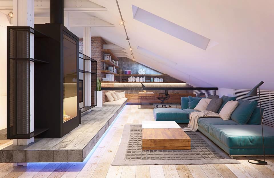 Soft living room decoration
