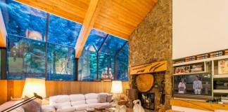 Unique wooden home design
