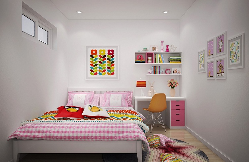 Cool and stylish kids room