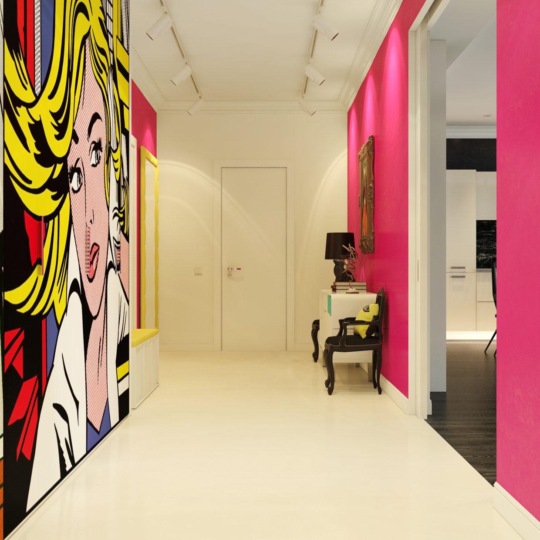 Funky wall art decoration