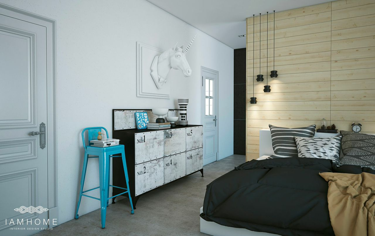 Bedroom ideas with whimsical art