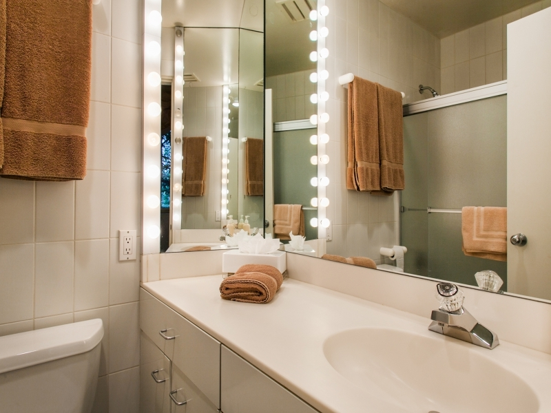 Bathroom concept for small space