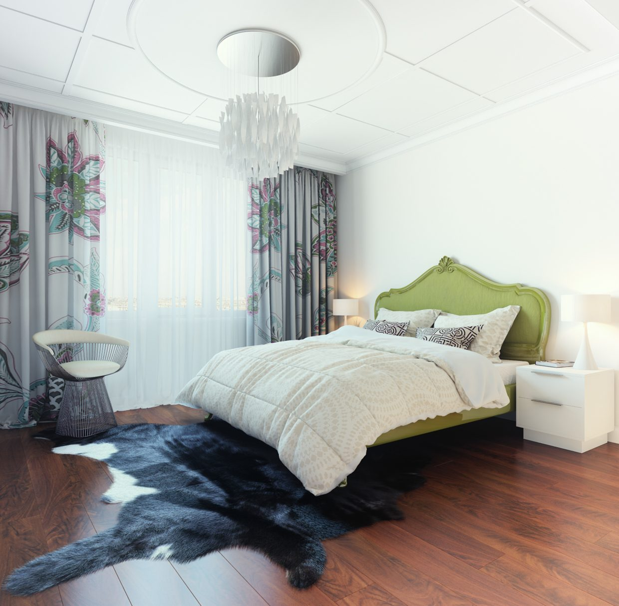 Bedroom design for woman