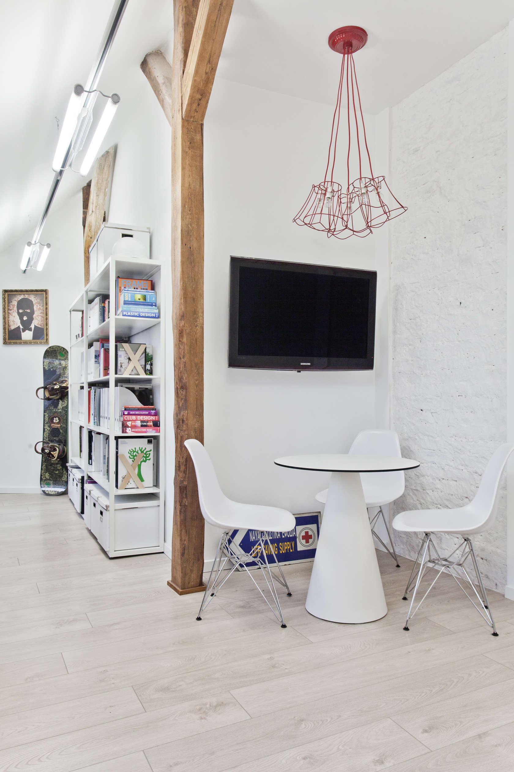White theme for create luxurious feel