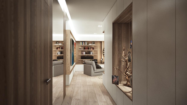 Wood panel display ideas