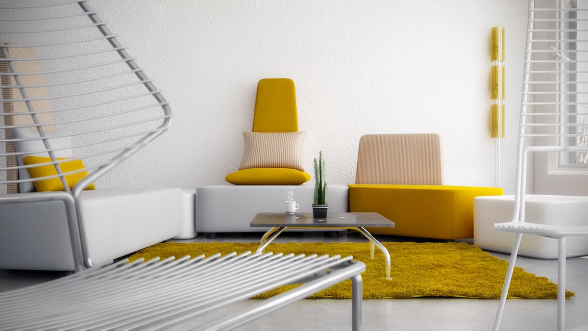 Yellow sofa inspiration
