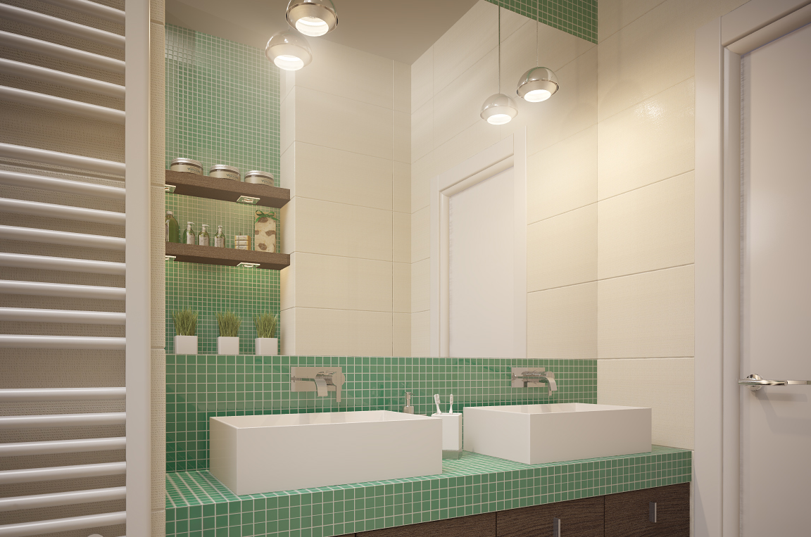 Unique bathroom design for kids