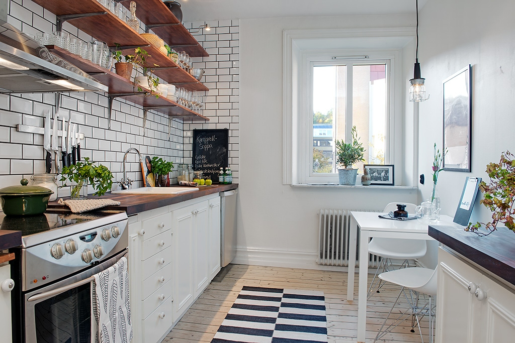Scandinavian Style For Small Kitchen Ideas  RooHome