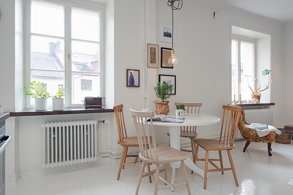 Scandinavian design interior