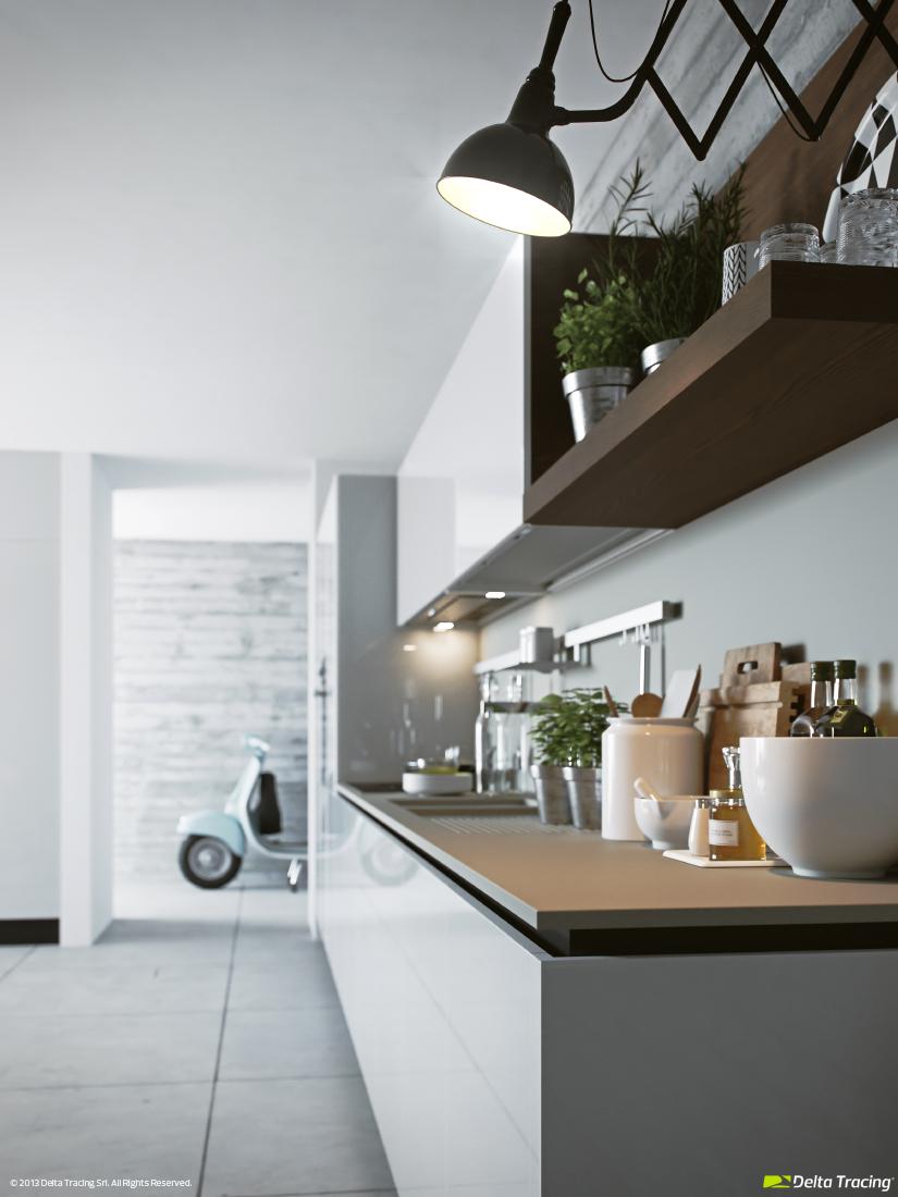 Stylish kitchen idea