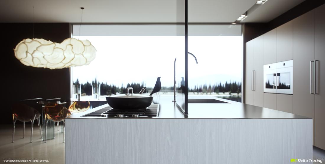 kitchen designs by delta. Delta Tracing Unique kitchen design Modern Kitchen Layout And Beautiful Lighting  RooHome Designs