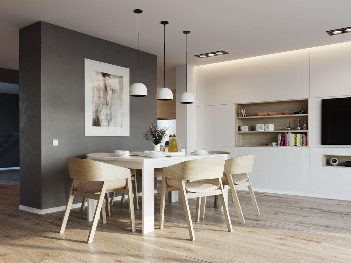 Scandinavian dining room design
