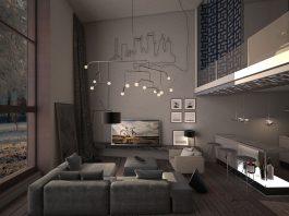 Dark living room ideas