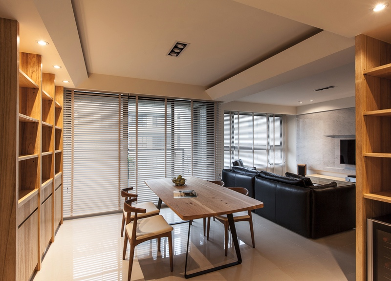 Taiwanese apartment interior design roohome designs - Modern apartment interior design ...