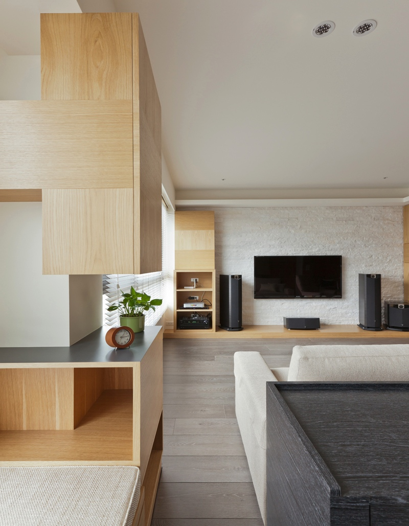 Taiwanese apartment design ideas