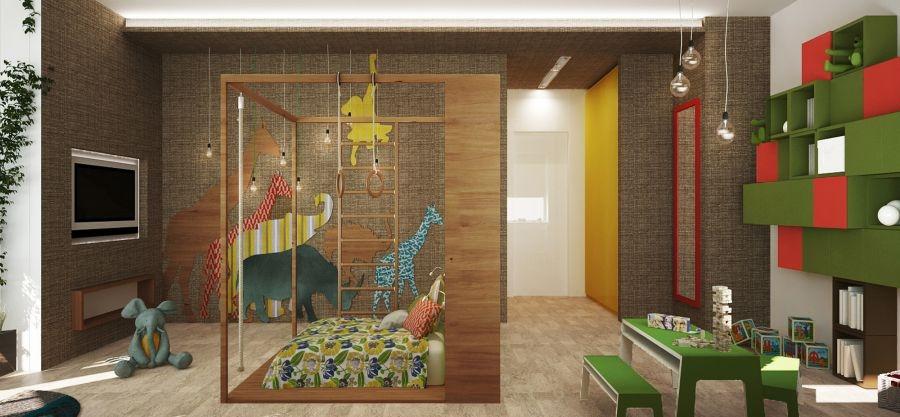 Stylish bedroom design for kids