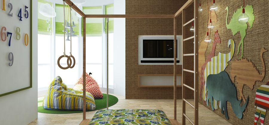 Stylish bedroom design for kids