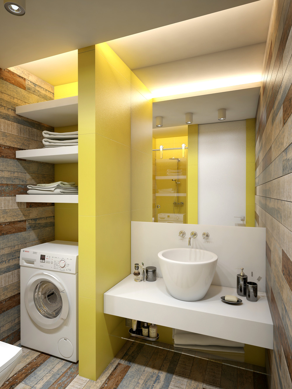 Small Apartment Decorating Ideas With Yellow Shades - RooHome