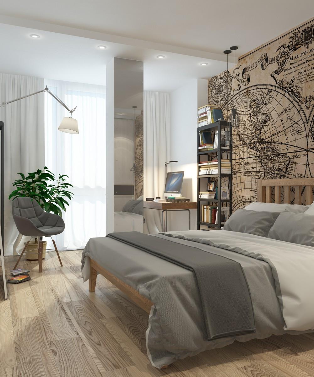 Minimalist bedroom themes