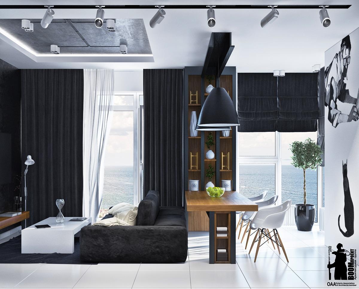 Interior Design Style © Boom Project Minimalist Living Room Ideas Part 89